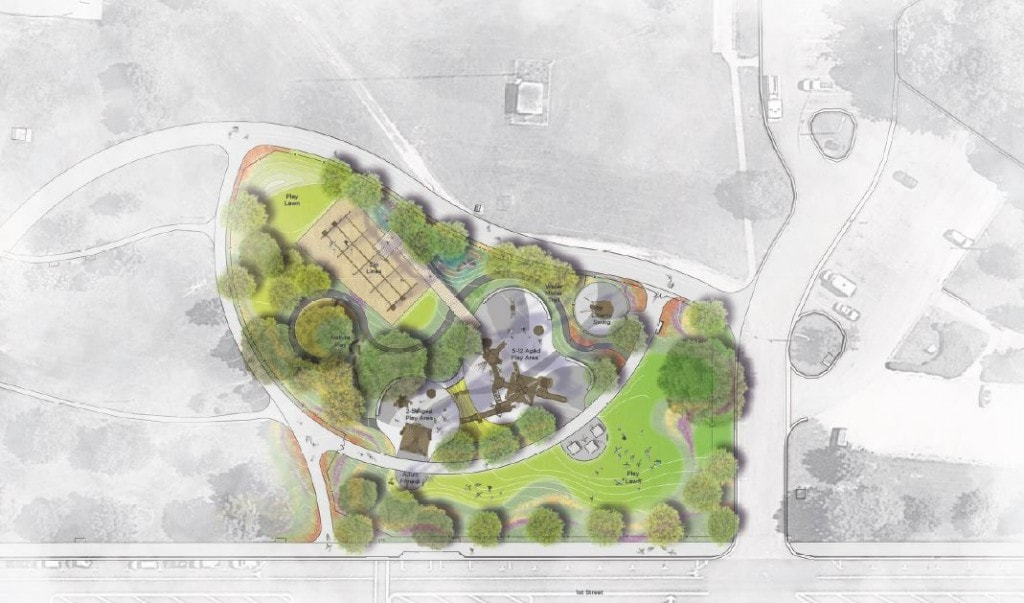 Town Common Playground Plan