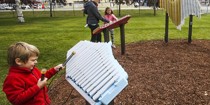 Freenotes Harmony Park Outdoor Musical Instruments