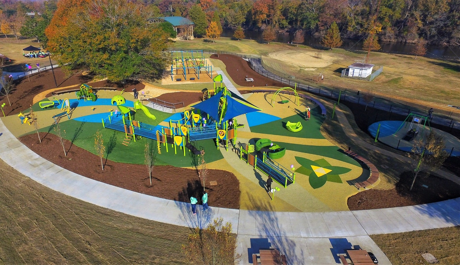 <h4>Town Common Playground<span> – NEW!</span></h4><h5>105 East 1st Street<br/>Greenville, NC 27858</h5>
