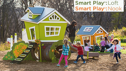 Smart play loft and nook image
