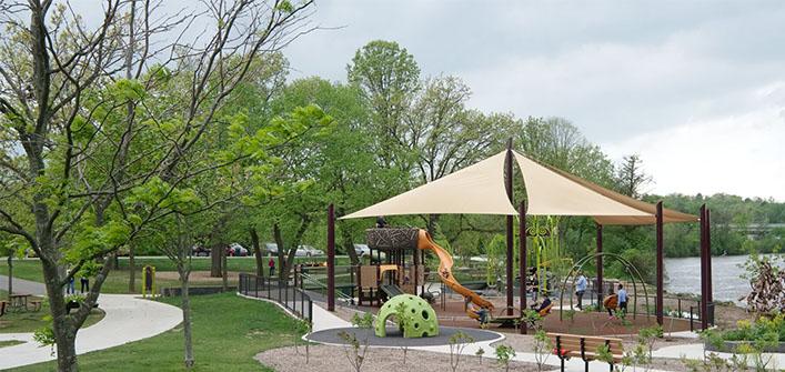 Waterside playground image